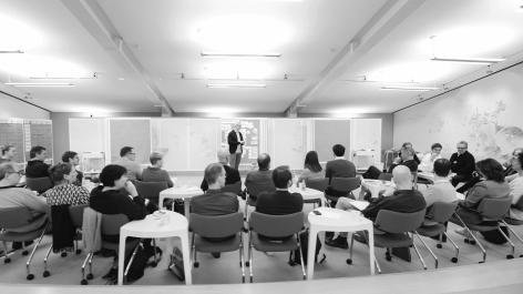 Plenum während des Metaplan Professional Programms