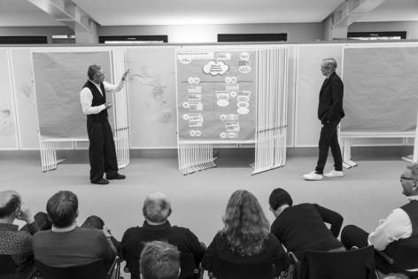 Metaplaner Jens Kapitzy und Christoph Nahrholdt moderieren das Professionals Programm