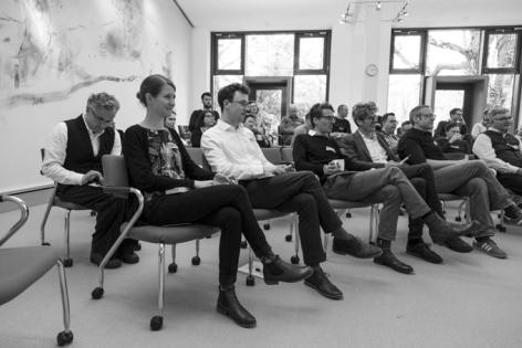 Teilnehmer im Metaplan Forum